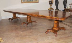 Noce Regency estensione Dining Table 14 ft Diner