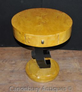 Singolo Art Deco Euro Side Table Mobili