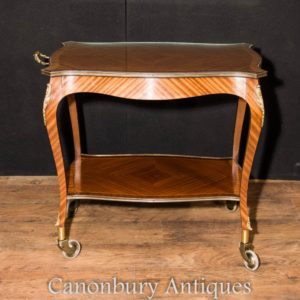 Tabella Impero francese Kingwood Butlers Trolley cavalletto laterale