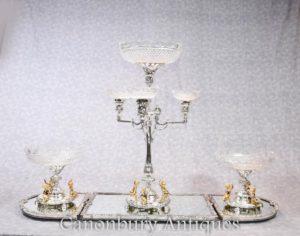 Piatto d 39 argento inglese boulton centrotavola epergne for Centrotavola in inglese