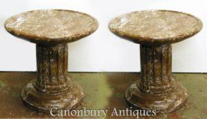 Supporta la colonna di basamento del basamento del marmo francese dell'impero francese