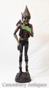 Casting statua di bronzo celtico Pixie Fairey