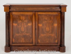 Credenza antica William IV in palissandro