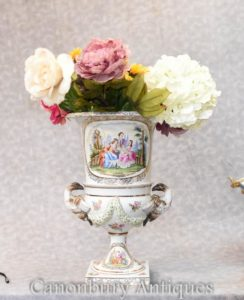 Fioriera classica monocottura in porcellana Meissen