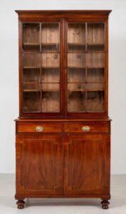 Libreria William IV - Mobile antico in mogano