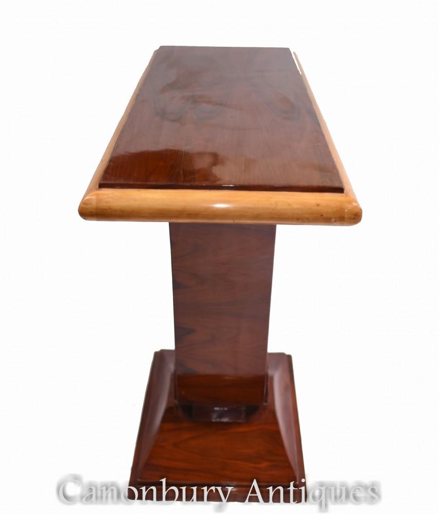 Tavolo da ingresso Art Déco - Consolle in palissandro