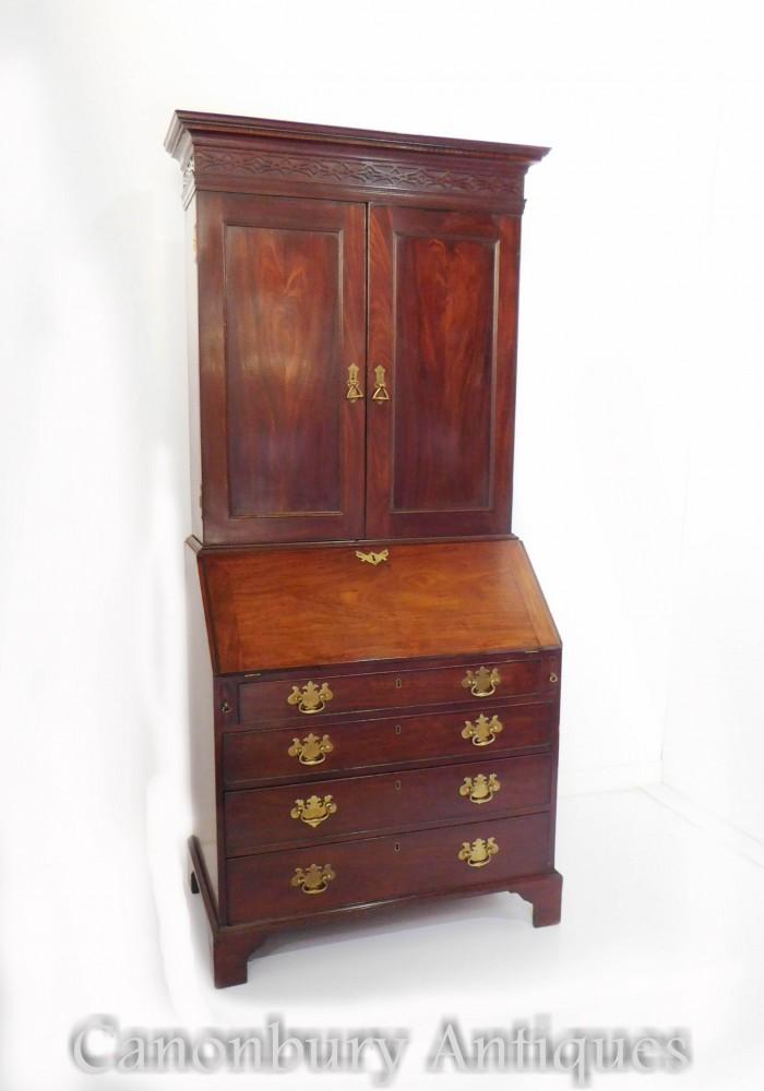 Libreria da ufficio georgiana Mobile da scrivania in mogano 1820